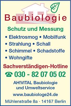 AH!Vital - Baubiologie Altenburger & Hermann GbR