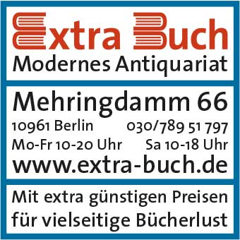 Extra-Buch Modernes Antiquariat