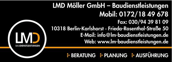 LMD Möller GmbH - Baudienstleistungen