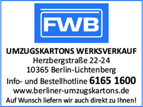 F.W. Borchardt Universal-Verpackungsmittelwerke GmbH
