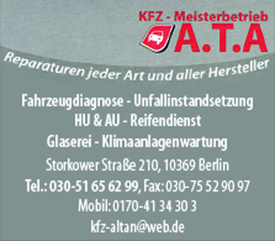 KFZ-Meisterbetrieb A.T.A