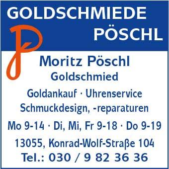 Goldschmiede Pöschl, Inh. Moritz Pöschl