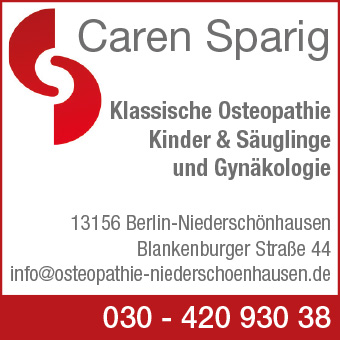 Sparig, Caren - Klassische Osteopathie