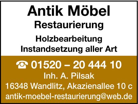 Antik Möbel Möbelrestaurierung Wandlitz