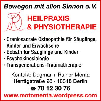 Menta Dagmar - Heilpraxis und Physiotherapie