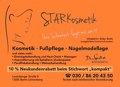 STARKosmetik, Inh. Anke Stark