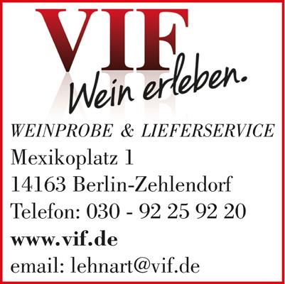 Logo von VIF Wein erleben