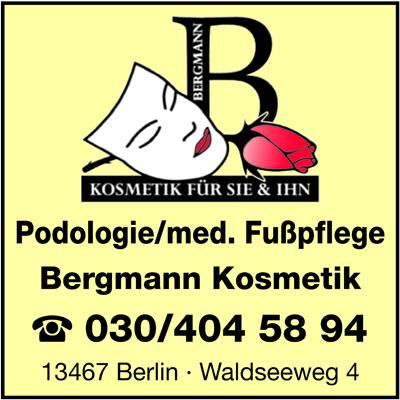 Logo von Bergmann Kosmetik