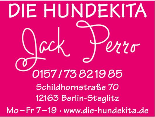 Logo von Die Hundekita - Jack Perro
