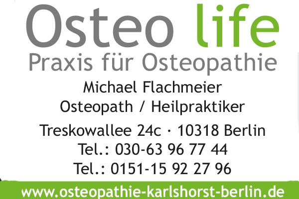 Flachmeier, Michael - Osteo life Praxis für Osteopathie