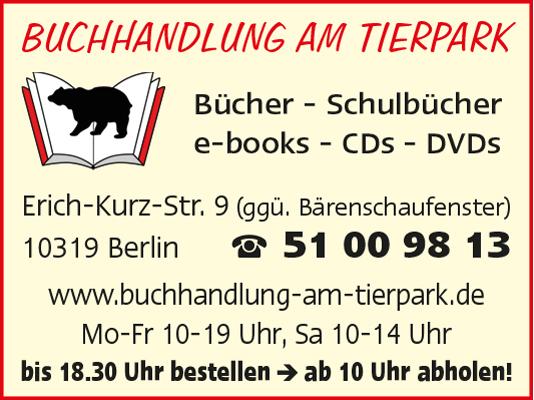 Logo von Buchhandlung am Tierpark