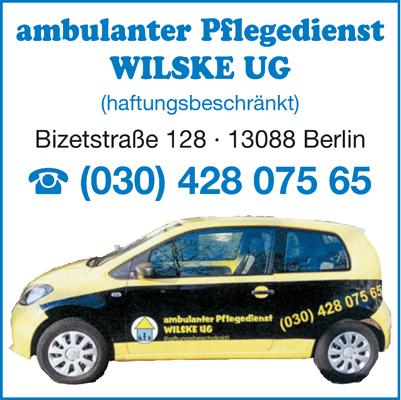 Logo von Wilske UG (haftungsbeschränkt)