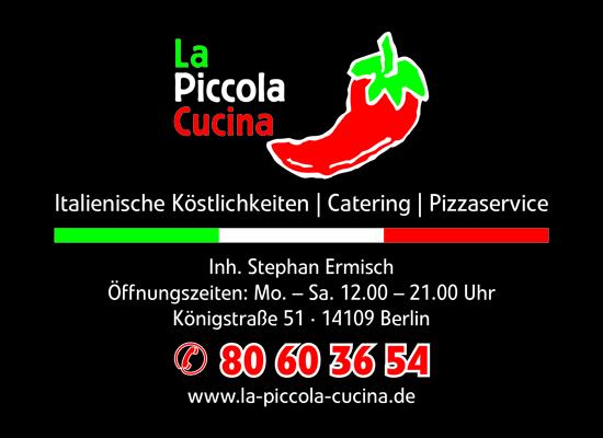 Logo von La Piccola Cucina Inh. Stephan Ermisch