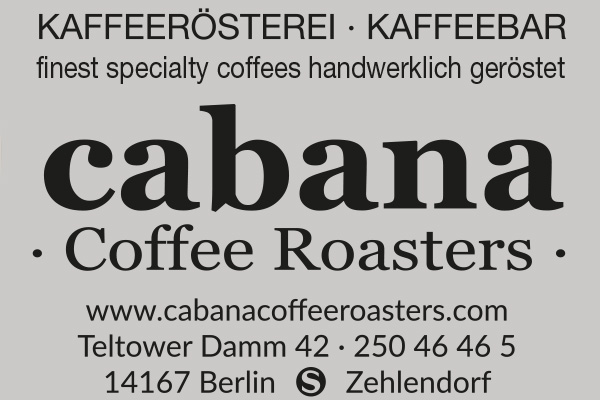 Cabana Coffe Roasters Spezialitätenkaffee