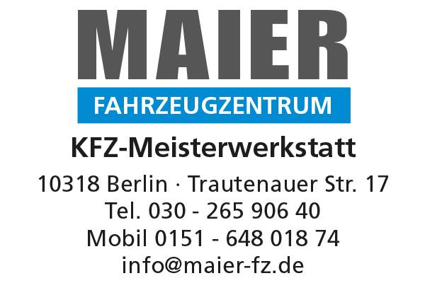 Fahrzeugzentrum MAIER - KFZ-Meisterwerkstatt