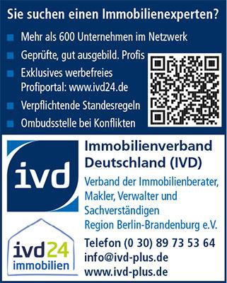 Logo von IVD Bildungsinstitut Berlin-Brandenburg GmbH
