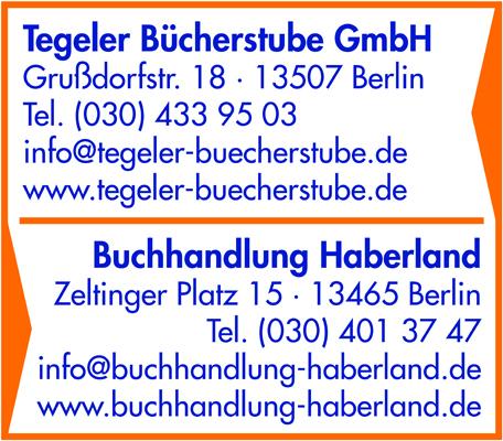 Logo von Tegeler Bücherstube GmbH