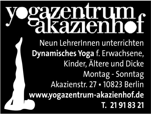 Logo von Yogazentrum Akazienhof