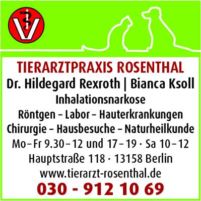 Rexroth, Hildegard, Dr. und Bianca Ksoll