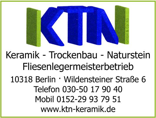 KTN-Keramik Trockenbau Naturstein GmbH & Co. KG - Fliesenlegermeisterbetrieb