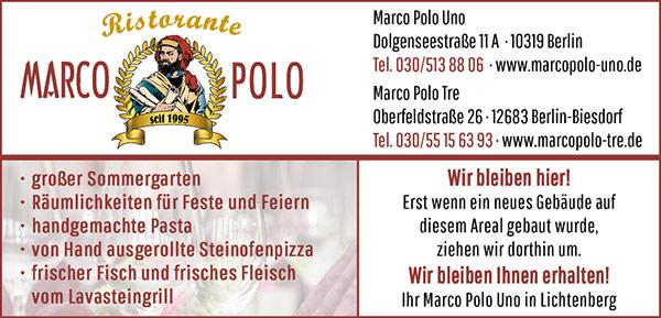 Logo von Marco Polo Uno
