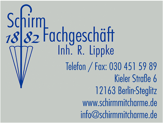 Lippke, Rolf - Der Schirmmacher