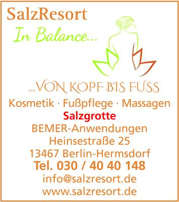 Salzresort - Kosmetikstudio und Salzgrotte, Inh. Sindy Gast