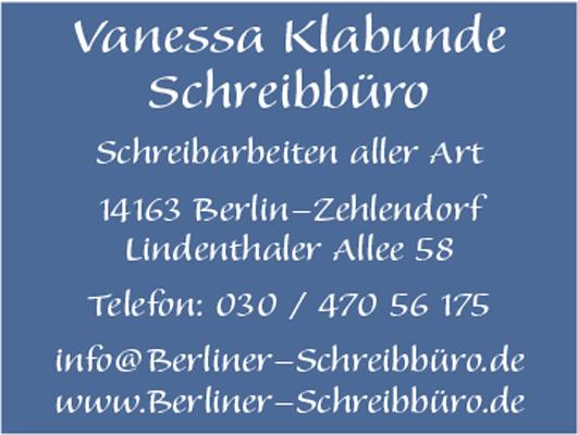 Logo von Klabunde Vanessa