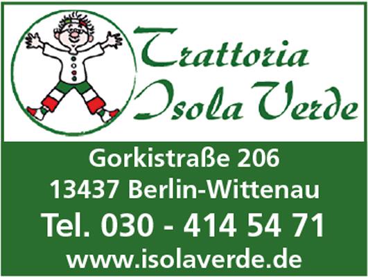 Logo von Trattoria Isola Verde