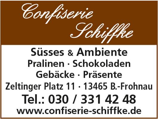 Logo von Confiserie Schiffke Süsses & Ambiente