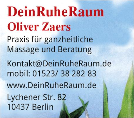 Logo von DeinRuheRaum, Inh. Oliver Zaers